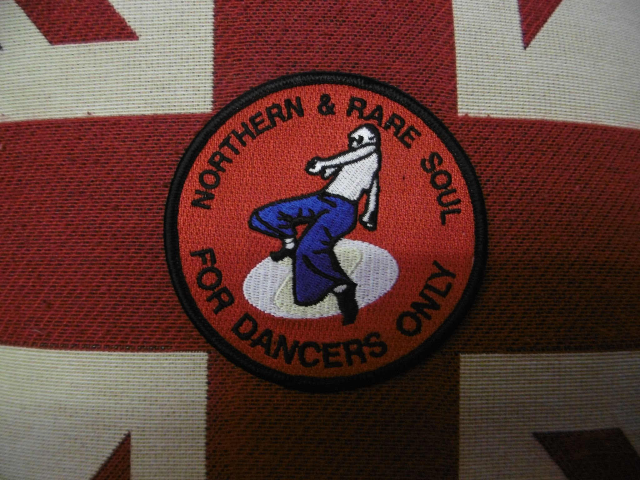 Red Northern Soul Patch