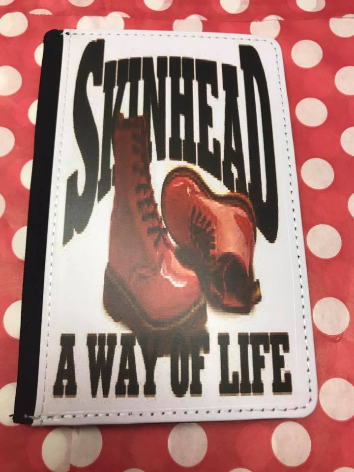 A way of life skinhead passport cover