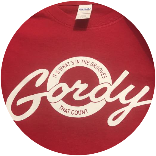 GORDY PLAIN MOD T-SHIRT (RED)