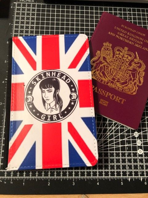 Skinhead  Girlpassport cover