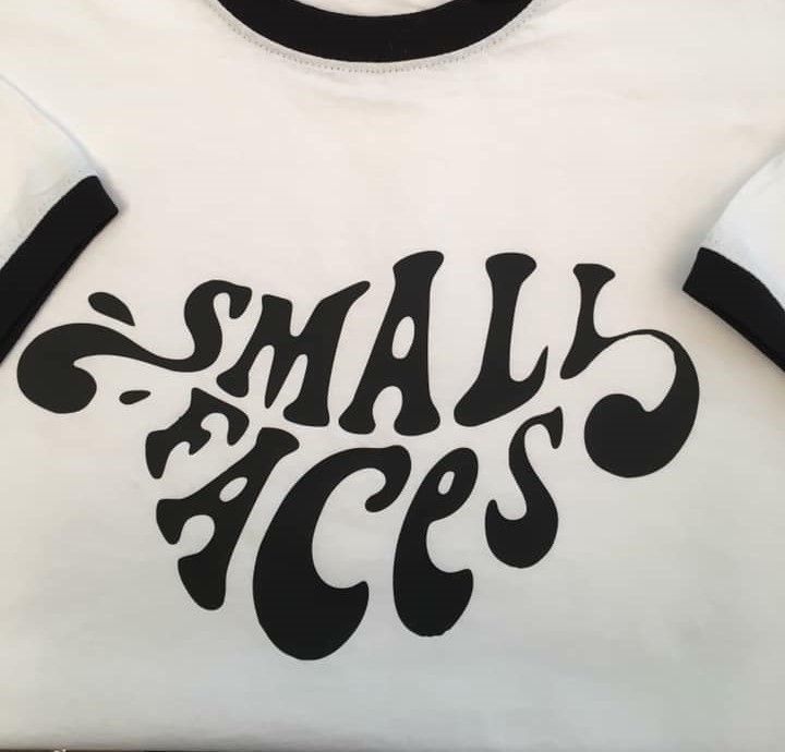 Small Faces white Ringer