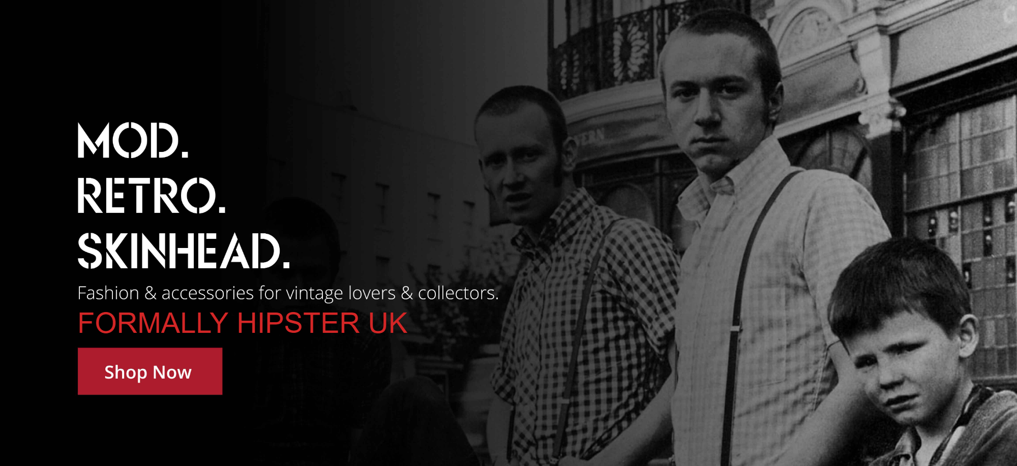 Shop mod, retro & skinhead fashions